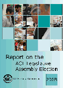 Report on the ACT Legislative Assembly Election 2008