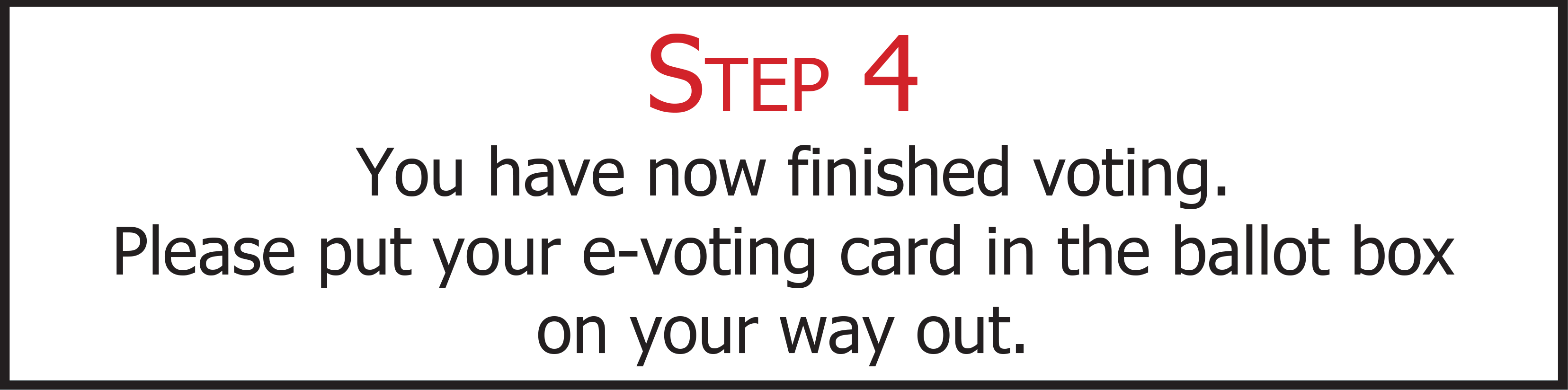 e-voting step 4
