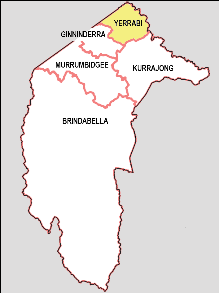 2016 ACT electorates image - Yerrabi