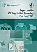 Cover of 2012 Election report