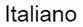 electoral information in Italian