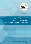 Cover of 2016 Election report